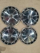 Vintage 1970s Ford Mustang Hub Caps / Wheel Covers X4 Matching Estate Find