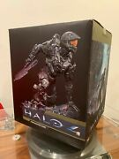Brand New Sealed - Master Chief Resin Statue Signed By Mcfarlane Halo 4