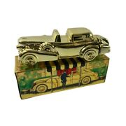 Avon Menand039s Vintage Solid Gold Cadillac Excalibur After Shave