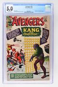 Avengers 8 - Marvel 1964 Cgc 5.0 1st Appearance Of Kang The Conqueror.