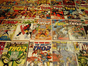 The Mighty Thor Comic Lot Marvel 1989 Lots Of Key Issues 28 Issues