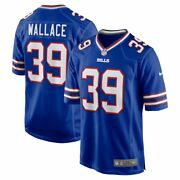 Buffalo Bills Levi Wallace 39 Nike Menand039s Royal Official Nfl Player Game Jersey