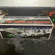 2013 Hess Toy Truck And Tractor - New In The Box