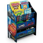 Top 2-tier Disney/pixar Cars Book And Toy Organizer Furniture For All Childrens