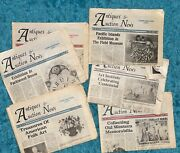 Vintage Antique Collectible 1989 Antiques And Auction Newspapers