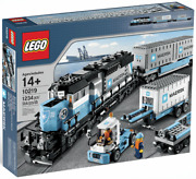 Lego Creator Maersk Train 10219 1234 Pieces New In Factory Sealed Box