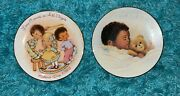 Vintage Antique Collectible 24kt Gold Trimming Plates