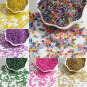 100-500pcs 2 3 4mm Glass Loose Beads Diy For Jewelry Making Necklace Bracelet