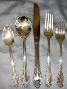 39 Pc Set 1847 Rogers Bros Is Rememberance Silverplate Flatware Service For 6