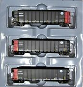 Athearn Ready To Roll 16492 Midwest Car 50 Thrall-side Coal Gondola Ho Scale