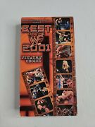 Wwf Best Of 2001 Vhs Wwe Rare Viewers Choice