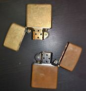 8 Zippo Lighters - 1950s Handh Musical Lighter - 1914 Hahway Lighter From Germany