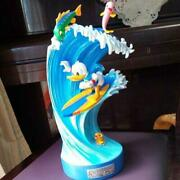 Disney Donald Duck Surfing Figure Ornament Character Goods Collection Rare632/kn