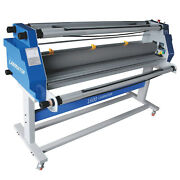 63and039and039 1600mm Hot Cold Roll Laminator Full-auto Low Temp Seal Laminating Machine