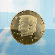President Trump Coin American Commemorative Coin Challenge Coins Patriosts