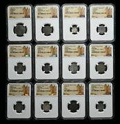 France. Wholesale Lot Of 16 Ngc Certified Coins Great Variety From 1199-1639
