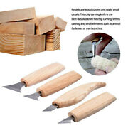 Durable Wood Carving Cutter Chisels Sharpen Skin Diy Tools For Beginner