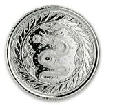 2021 Scottsdale Mint 1/2 Oz Serpent Of Milan Silver Coin In Factory Capsule