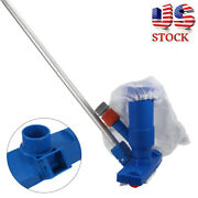 New Swimming Pool And Spa Pond Fountain Vacuum Brush Cleaner Cleaning Tool Kit