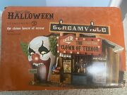 Department 56 Halloween The Clown House Of Terror 4030759 Mint Condition Read