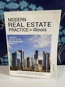 Modern Real Estate Practice For Illinois 10th Edition Real Estate Institute Book