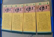 Vintage 1970andrsquos Knottand039s Berry Farm Ticket Book Incompete Books
