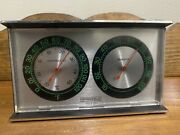 Vintage Springfield Weather Station Thermometer Humidity Meter