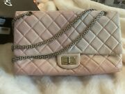 Classic Ombre Pink W/silver Hardware Bag Lambskin Quilted Flap Bag