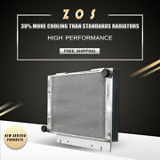 Radiator For Ford Galaxie 500 Sunliner Xl 1960-63 Aluminum V8 L6 3rows At 6063