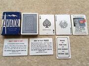 Dec 29th 1942 Unused U.s.gov Aviator Playing Cards Gift Of The American Redcross