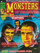 Monsters Of The Movies Barnabas Dark Shadows Blacula Yorga =poster 8sizes17-3ft