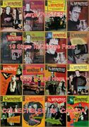 The Munsters 1965 - 1968 All 16 Shown = Poster Comic Book 10 Sizes 18 - 5 Ft