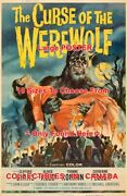 Curse Of The Werewolf 1961 Moon Torches Horror = Movie Poster 10 Sizes 17-4.5ft