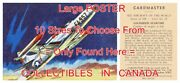 Lockheed Starfire 1958 Jet Fighter = Poster Trading Card 10 Sizes 34 - 7.4 Ft