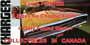 Dodge Charger 1970 Your Going To Get Yours =poster Car Brochure 3sizes 4ft - 7ft