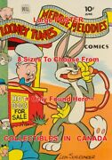 Bugs Bunny 1944 Hot Dog Stand Porky Pig = Poster Comic Book 8 Sizes 17 - 3 Feet