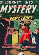 Journey Into Mystery 1952 Skull Donand039t Look = Poster Comic Book 8 Sizes 17 - 41