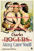 Along Came Youth 1930 Charles Rogers F. Dee = Movie Poster 10 Sizes 17-4 1/2 Ft