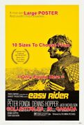 Easy Rider 1969 Peter Fonda Looking For America = Movie Poster 10sizes 18-4.5ft