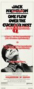 One Flew Over The Cuckooand039s Nest 1975 = Large Poster 3 Sizes = 60 / 90 / 104