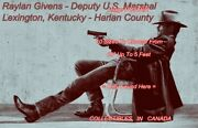 Justified Raylan Givens Tv Show Deputy U.s. Marshal = Poster 10 Sizes 17 - 5 Ft