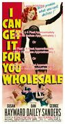 I Can Get It For You Wholesale 1951 Hayward Sexy = Poster 3 Sizes 4 / 6 / 7 Feet