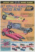Kenner Racers 1971 Rail Bird Ssp Too Much Car = Poster Comic Book 2 Sizes 18-19
