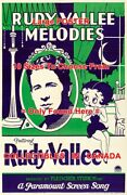 Rudy Vallee Melodies 1932 Cartoon Betty Boop = Poster 10 Sizes 18 - 4 1/2 Feet