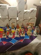 Lot Of 11 Dave Grossman Norman Rockwell Christmas Ornament Figurines With Boxes