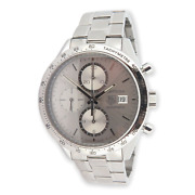 Auth. Tag Heuer Carrera Cal 16 Chronograph Automatic 100m 40.5mm Watch Cv2017