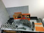 Huge Vintage Lionel Trains Track And Accessories Lot 1950's Metal O Scale