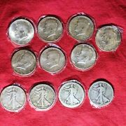 Huge Lot Of Silver Coins