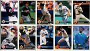 Lot Of 1000 To 10,000+++ Baseball And Football Cards 91,92,93 All Popular Brands