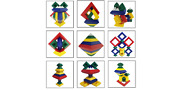 Pyramid Stacking Toy Building Blocks 3d Puzzle Brain Teasers For Kids And Adults